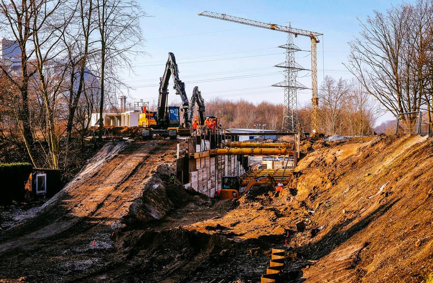 Civil engineering underground   Wittfeld
